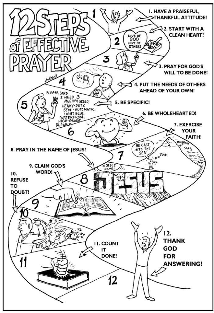 12 Steps of Effective Prayer