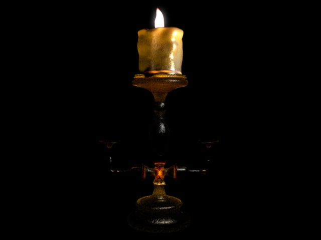 free-bible-studies-online-activated-candle-on-a-candlestick