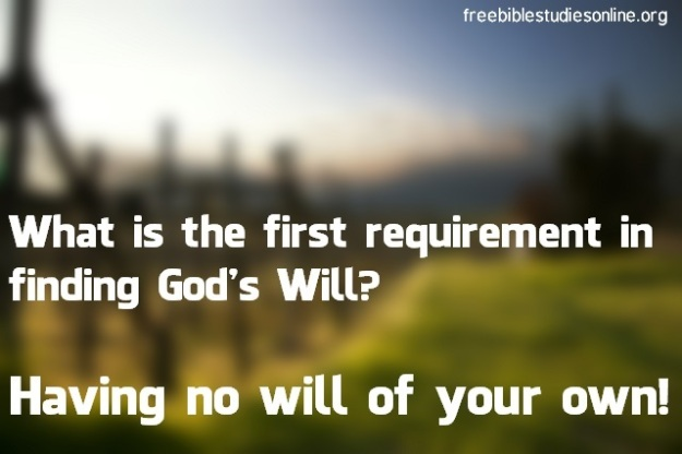 free-bible-studies-online-requirement-in-finding-gods-will